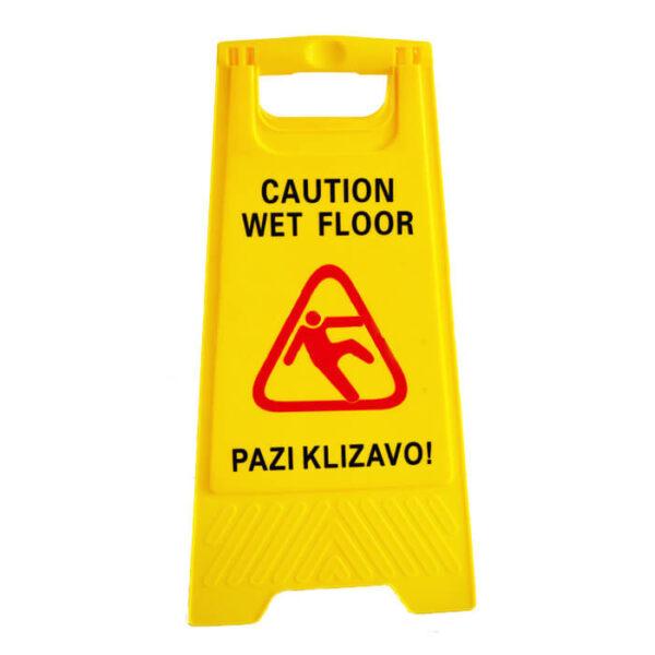 Znak pazi klizavo Correcto Clean shop doo