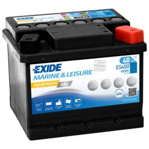 Akumulator za masine za pranje podova Exide Equipment 12v 40ah Correcto Clean Shop doo