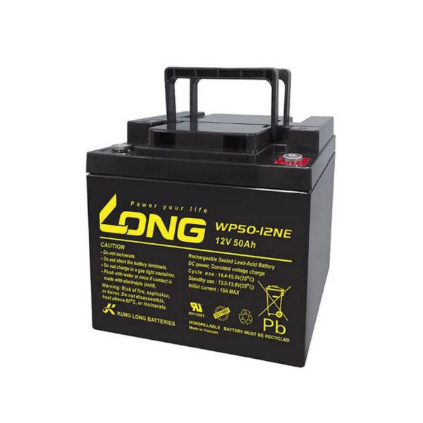 Stacionarna baterija za mašine za pranje podova Long - Vietnam 12V / 50ah Correcto Clean Shop doo