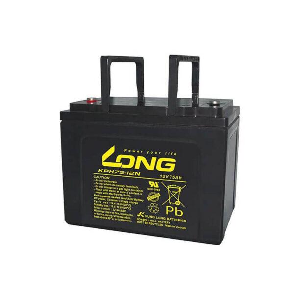 Akumulator za masine za pranje podova Long Vietnam 12v 75ah Correcto Clean Shop doo