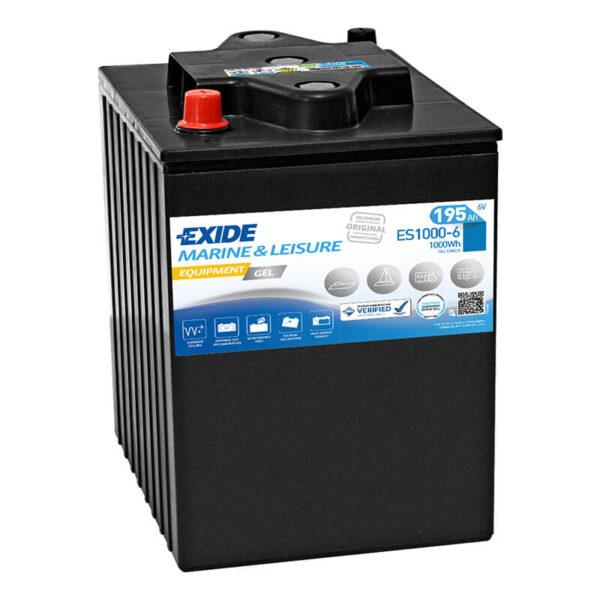 Akumulator za masine za pranje podova Exide Equipment 12v 195ah Correcto Clean Shop doo