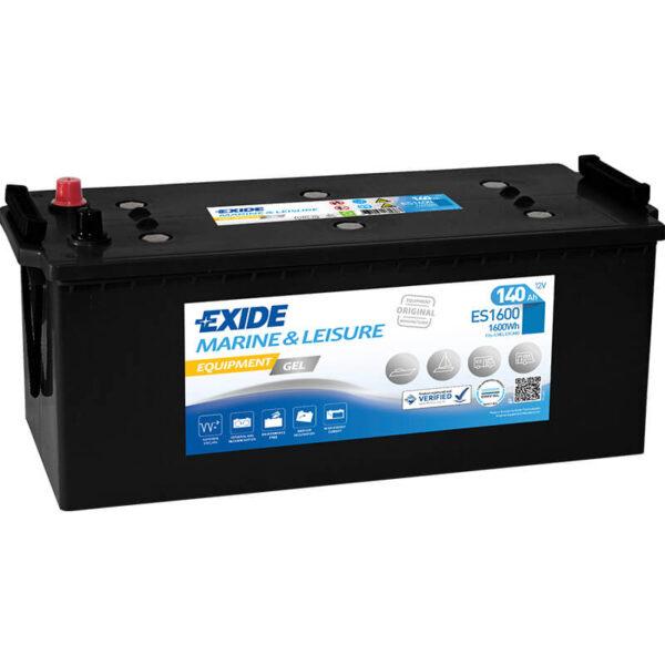 Akumulator za masine za pranje podova Exide Equipment 12v 140ah Correcto Clean Shop doo