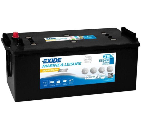 Akumulator za masine za pranje podova Exide Equipment 12v 210ah Correcto Clean Shop doo