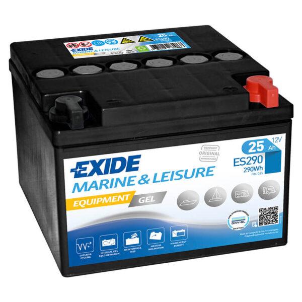 Akumulator za masine za pranje podova Exide Equipment 12v 25ah Correcto Clean Shop doo